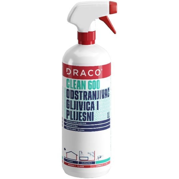 draco clean 600 1l