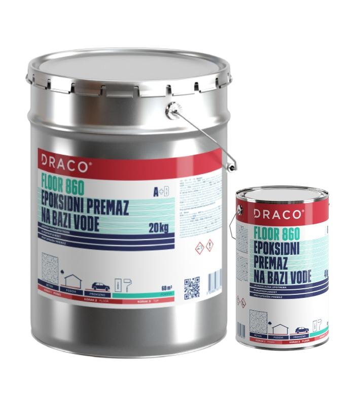 draco floor 860 20kg 4 kg epoksidni premaz